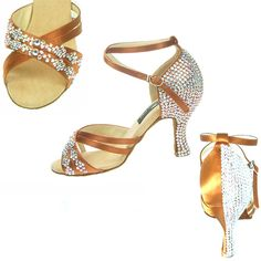 Lodi Crystals Ballroom Dance Shoe - Click Image to Close