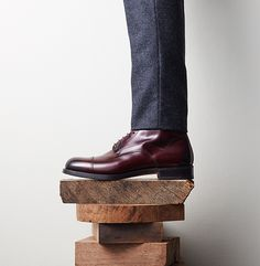 8 Pairs of Boots You Can Totally Wear With a Suit: Shoes - Details Magazine Oxblood