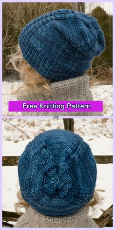 Knit The Making Headway Hat Free Knitting Pattern