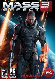 Not so much the character himself (esp. since Shepard is female), but the armor from this game is really well done