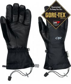 If you are looking for winter gear then Outdoor Research Southback Gloves are the gloves to get. These Gore-Tex over gloves are made of leather and nylon. Southback Gloves are designed for daily winter wear as well as skiing or snowboarding. Research Southback gloves are equipped with DuoCinch gauntlet closure and to keep warm the gloves have EnduraLoft insulation with 266 grams on the back of the hand and 133 grams on the palm. Outdoor Research Southback Gloves are waterproof and breathable…