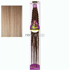 "Vivica Fox Senegal Mega Jumbo Twist Braids 26"" - Color TP613/27 - Synthetic Braiding"