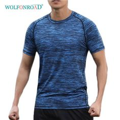 b728f78846323 WOLFONROAD Summer Man s Quick Dry T Shirts Camping Hiking Tees Man Running  Fitness Sport Tshirts Camouflage Tops L-QZPL-11 Review