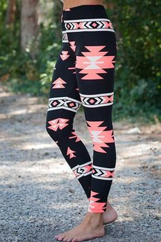 Check out our variety of leggings! Stylish Elastic Waist Skinny Printed Colored Leggings For Women These super soft comfy leggings are so cute!! Made Of polyester. Fits XS-Med. See size Chart Below Si