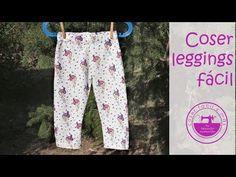 Coser leggings, fácil!! - YouTube Leggings, Pajama Pants, Pajamas, Denim, Sewing, How To Wear, Blog, Ideas Para, Babys