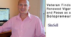 David struggled with his transition into civilian life until he started building his own online business. | http://www.sitesell.com/blog/2016/02/veteran-finds-renewed-vigor-and-focus-as-a-solopreneur.html #solopreneur #successstories