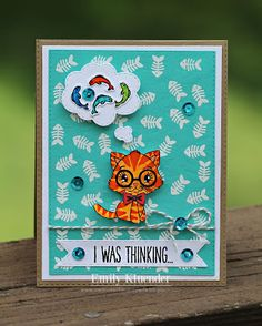 My Creative Time: Favorite Stamp of the Month! (Online Card Class BACKGROUND CHECK) Day 1