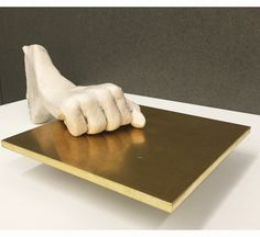 Untitled Mixed-media sculpture by Enrico David Hepworth Wakefield, Turner Prize, Mixed Media Sculpture, Small Sculptures, Stocking Fillers, Abstract Styles, Contemporary Artists, Figurative, Brass