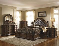 traditional bedroom furniture sets modern bedroom design with traditional bedroom furniture set traditional king bedroom furniture King Bedroom Sets, Bedroom Furniture Sets, Home Furniture, Furniture Stores, King Furniture, Bedroom Suites, Queen Bedroom, Furniture Movers, Apartment Furniture