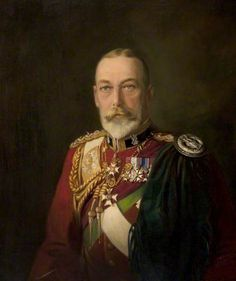 """HM King George V (1865–1936) Became king in 1910. George V declared war on Germany in 1914. The conflict - World War One - pitted him against his first cousin, Kaiser Wilhelm II. George made many visits to the front line and, due to anti-German feeling, changed the Royal Family's name from """"House of Saxe-Coburg and Gotha"""" to the more English sounding """"Windsor"""". George was the grandfather of Her Majesty the Queen. As a child, she referred to him as """"Grandpa England""""."""