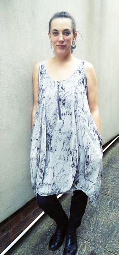 Amanda in Mint Velvet Cocoon Dress