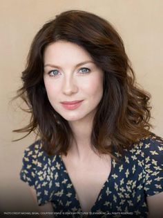 "Starz ""Outlander"" Series: Claire Beauchamp Randall Fraser, played by Irish actress Caitriona Balfe. (Her name is pronounced ""Ka-TREE-na Balf"".)"