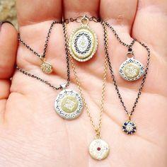 New! Necklaces by designer Adel Chefridi, Shop Eliza Page Jewelry.  www.elizapage.com