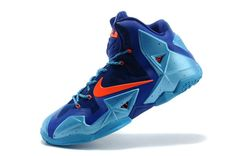 low priced b86b2 f8a6a Lebron 11 China Royal Blue Hero Blue Total Orange Buy Nike Shoes, Cheap Nike  Running