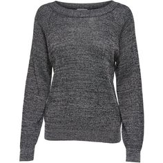 M&Co Jdy Glitter Knit Jumper ($26) ❤ liked on Polyvore featuring tops, sweaters, silver, slouch sweater, glitter long sleeve top, long sleeve jumper, knit sweater and drop shoulder tops