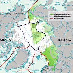 Russia has already – literally – staked its claim to vast tracts of the Arctic, and now China is looking northward too. Arctic Weather, Council On Foreign Relations, Continental Shelf, Energy Companies, Global Economy, Oil And Gas, Global Warming, Climate Change, Russia
