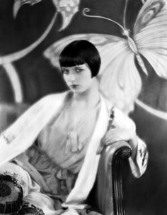 Louise Brooks (November 14, 1906 – August 8, 1985) as Thymian  in Tagebuch einer Verlorenen ( Diary of a Lost Girl), 1929. age 24 #actor