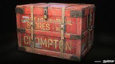 ArtStation - Dekogon - Old Shipping Crate 02, Wahyu Nugraha