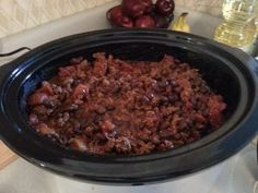 Black Bean Chili Recipe - stove or crock pot!