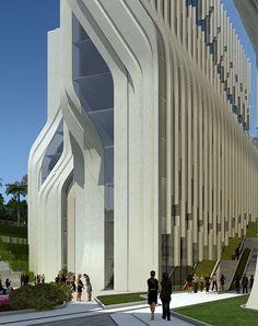 The Stone Towers by Zaha Hadid Architects - The Photo's Architect