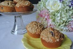 Combining the best of traditional recipes and the integration of new techniques and flavors is the basis for the modern southern cook. Blueberry, Muffins, Southern, Yummy Food, Orange, Cooking, Breakfast, Modern, Recipes