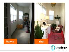 Makeover of a corner home office nook: http://on.fb.me/VIYRiq