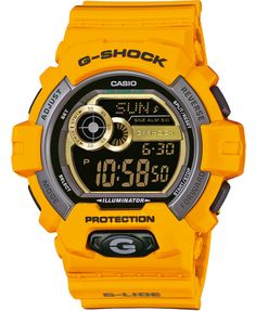 0b0efbb70123f online shopping for Casio G-Shock GLS-Winter G-Lide Classic Series Men s  Stylish Watch - Yellow   One Size from top store. See new offer for Casio G- Shock ...