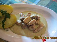 Alicia y sus recetas: LOMO EN SALSA DE LECHE