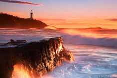 Sunrise at Soldiers Beach, Central Coast, NSW Australia  Beach by -yury-
