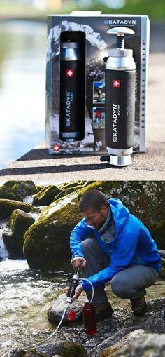 Katadyn Pocket Water Filter, Long Lasting for Personal or Small Group Camping, Backpacking or Emergency Preparedness Backpacking Gear, Hiking Gear, Camping Gear, Outdoor Camping, Outdoor Gear, Group Camping, Survival Food, Camping Survival, Survival Tips