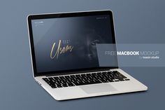 MacBook Mockup is a cool mockup designed and shared by Tao Sin. Make your designs stand out with this high quality mockup. Place your design into a MacBookPro Screen and give it a realistic look while presenting your designs for clients or customers. Free Macbook Pro, Apple Macbook Pro, Macbook Mockup, Presentation Design, Side View, Branding Design, Branding Template, Photoshop, Make It Yourself