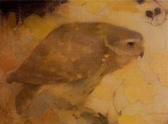 Jan Mankes, Bird of Prey on Branch on ArtStack #jan-mankes #art