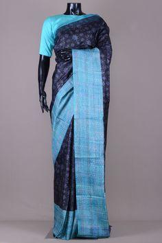 Tussar Silk Saree, Cotton Saree, Printed Sarees, Stuffed Animal Patterns, Sarees Online, Sari, Pure Products, Prints, Beautiful