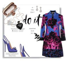 """Detalhes"" by railda-pereira ❤ liked on Polyvore featuring The Damned, Emilio Pucci, Mikimoto, VDP, Lipsy and dress"