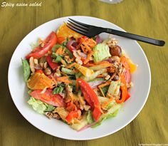 Spicy Asian Salad