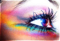 6 rainbow eye makeup