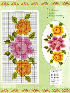 ponto-cruz-flores-5-500x400 78 gráficos de flores em ponto cruz para imprimir