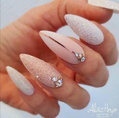 Graduation Nails Designs for nude nails; The post Graduation Nails Designs for nude nails; unique& appeared first on Trendy. New Year's Nails, Hair And Nails, Acrylic Nail Designs, Nail Art Designs, Unique Nail Designs, New Years Nail Designs, Nail Lacquer, Nail Nail, Pink Nail