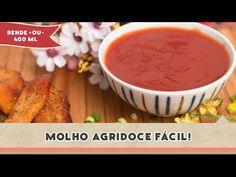 Molho Agridoce - Receitas de Minuto EXPRESS #101 - YouTube