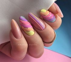 Summer Nail Designs That Are Trending for 2020 – Cocopipi Oval Nails, Toe Nails, Shellac Nails, Gorgeous Nails, Pretty Nails, Best Acrylic Nails, Stylish Nails, Almond Nails, Spring Nails