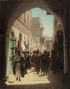 David Street, Jerusalem, 1900s