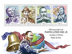 GB 14504 a	50th anniversary Martin Luther King Jr's Nobel Peace Prize (Martin Luther King Jr. (1929-1968))