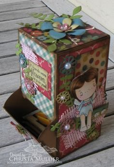 tea-bags box