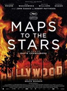 Poster for MAPS TO THE STARS (David Cronenberg, Canada/Germany, 2014) #TIFF14
