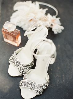 We're crushing on these sparkly stunners: http://www.stylemepretty.com/vault/gallery/38205 | Photography: Mint Photography - http://mymintphotography.com/