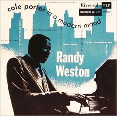 Album cover by  Paul Bacon, 1954, Randy Weston plays Cole Porter.