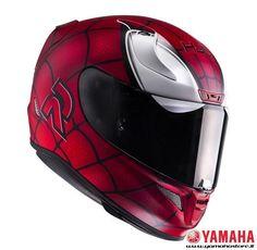 Hjc casco Rpha 11 Spiderman mc-1sf marvel limited editio fibra moto