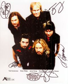 See STYX in concert---CHECK!!