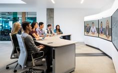 16 best Telepresence images on Pinterest Meeting rooms Conference