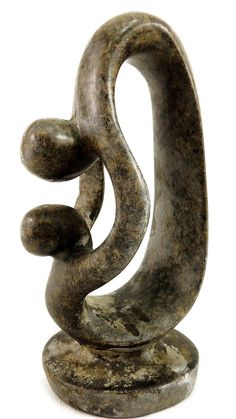 Shona MOTHER AND CHILD Stone Zimbabwe African Art by klemcoimport